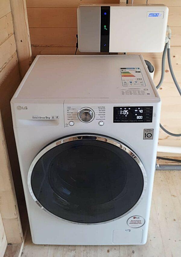ecologik-3 installed in washing machine