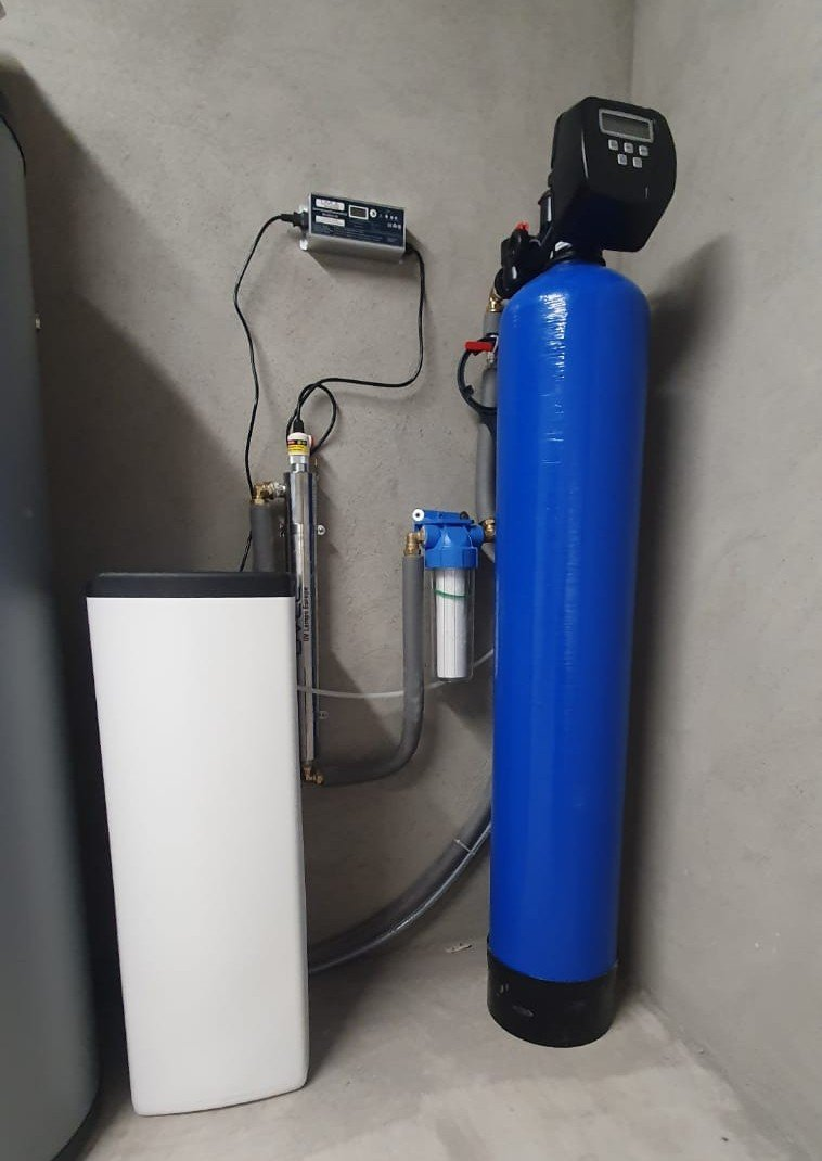 water filtration system for private well